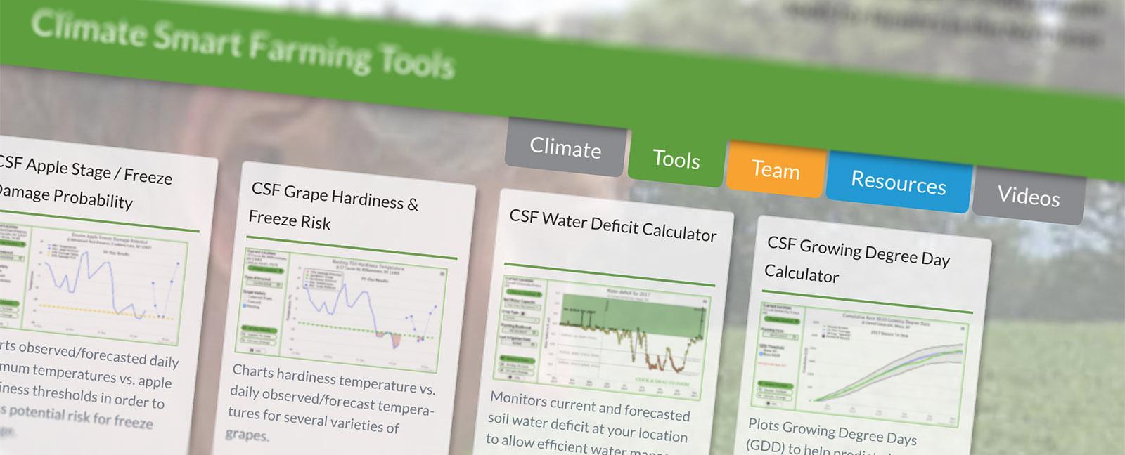 screenshot of site