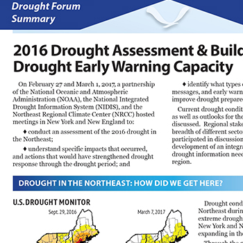 Drought Forum