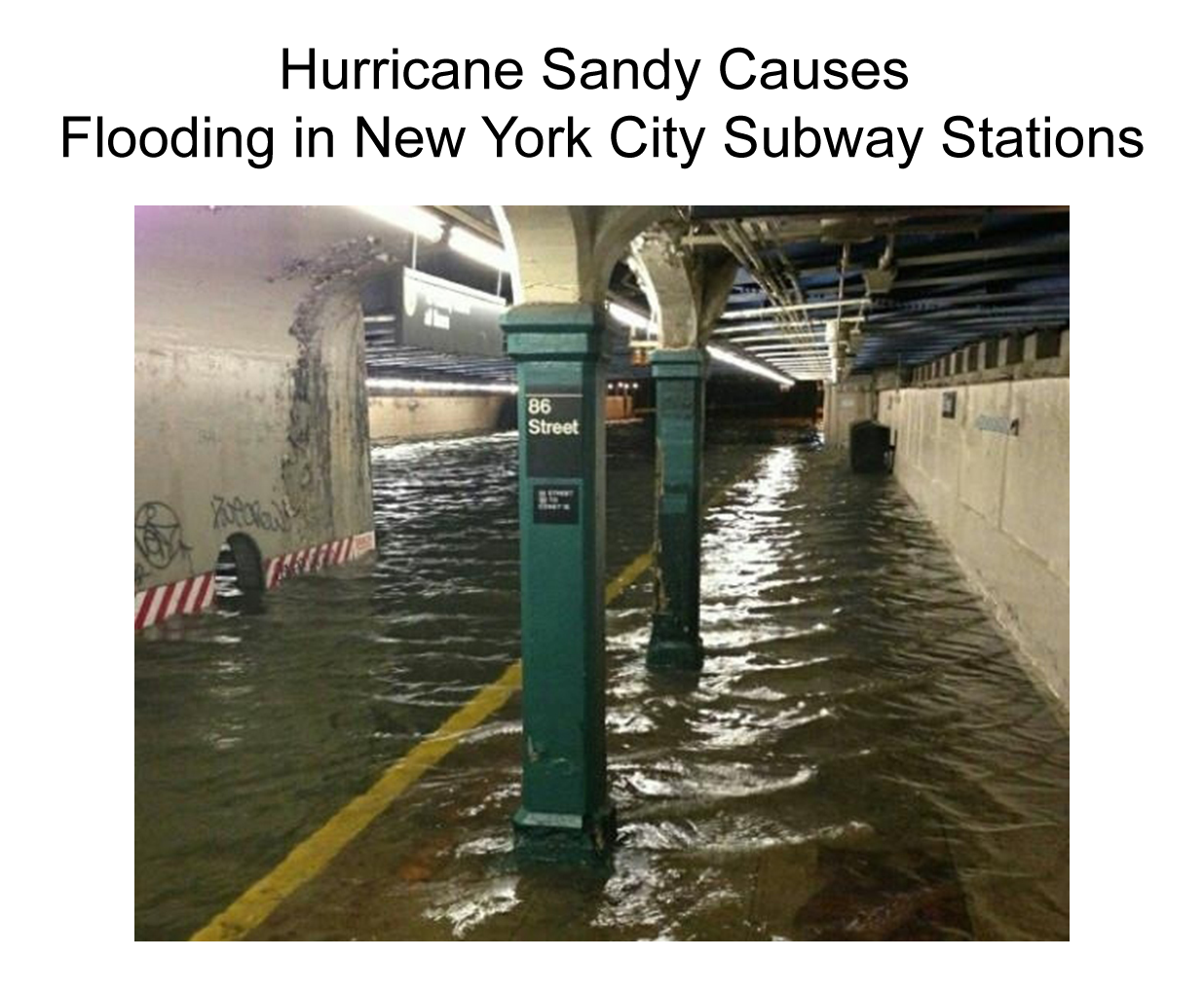 Hurricane Sandy Flooding Hurricane Sandy Causes