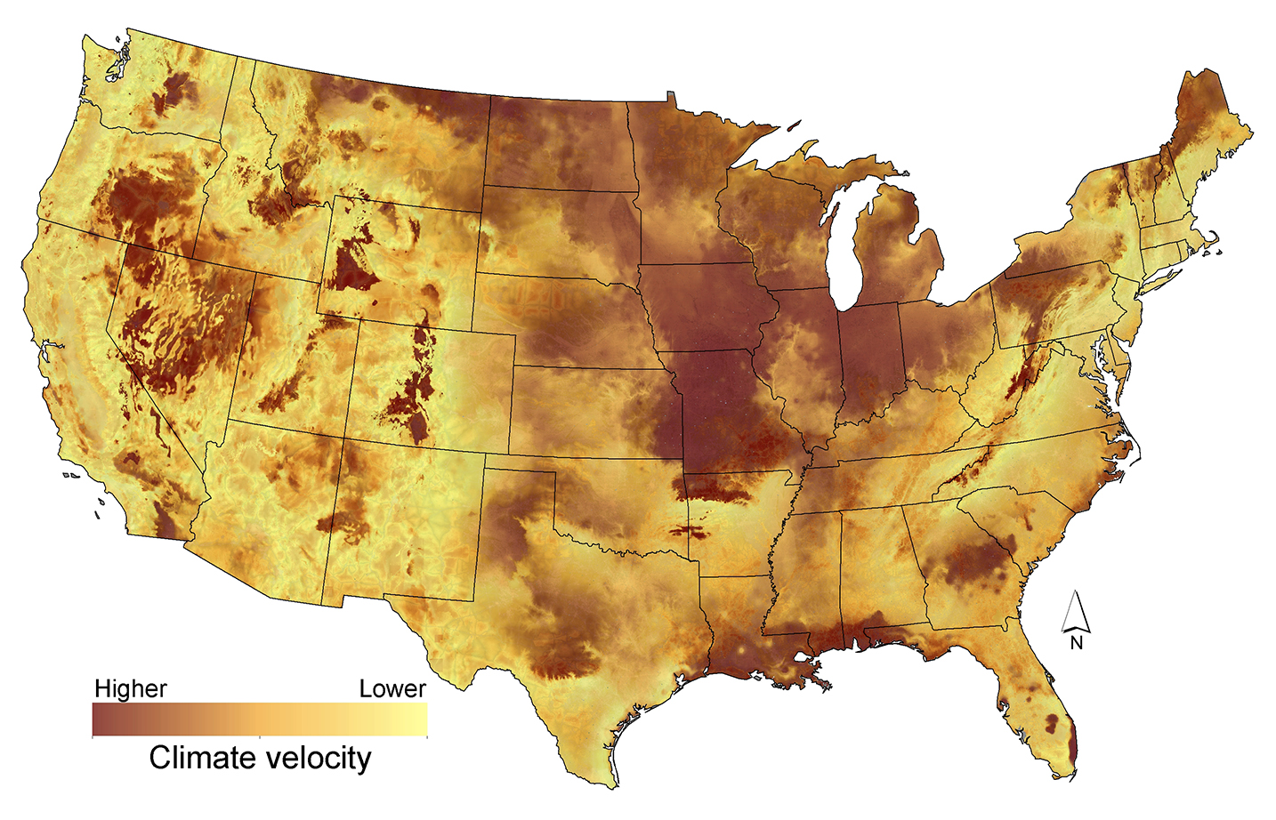 Climate Vulnerability Map US Climate Resilience Toolkit - Us map climate