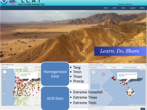 Screenshot of the LCAT: Station Data course landing page