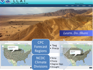 Screenshot of the LCAT: Regional Data course landing page