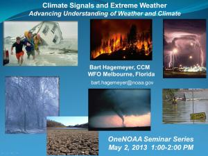 Promo image for the course Climate Signals and Extreme Weather Events