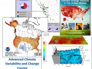 Promo image for the course Advanced Climate Variability and Change Course