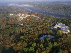 Aerial view of the U.S. Fish & Wildlife Service National Conservation Training Center