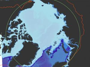 Screen capture from the Arctic Risk Map