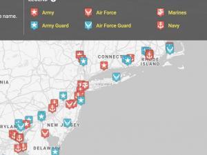 Screenshot from DRSL map viewer