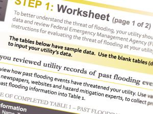 Screen capture from the Flood Resilience Guide