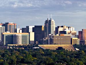 Photo showing skyline of Texas Medical Center