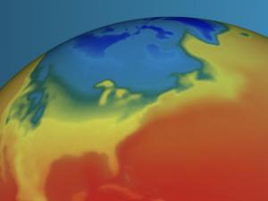 Screen capture from NASA POWER Website