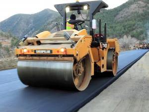 Rebuilding a road in Colorado