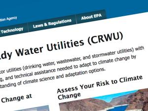 Screen capture from the CRWU website
