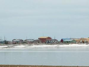 Photo of Gambell, Alaska, an Alaskan Native Village Corporation and a member of the Bering Sea Alliance, LLC