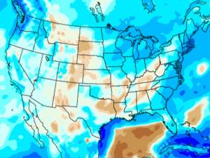 Screen capture from the North American Regional Climate Change Assessment Program tool