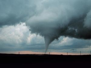 Occluded mesocyclone tornado in 1999 near Anadarko, Oklahoma