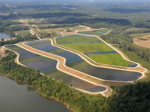 E.L. Huie Jr. Constructed Treatment Wetland in Clayton County, Georgia.
