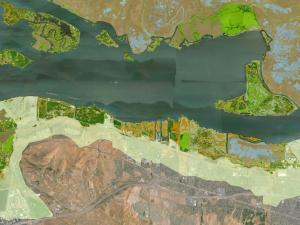 Screen capture from the Future San Francisco Bay Tidal Marshes tool