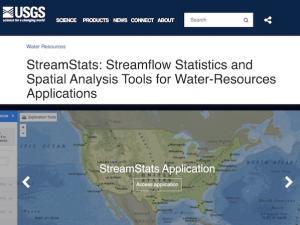 StreamStats Webpage
