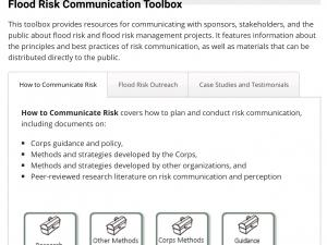 Screen capture from Flood Communications Toolbox