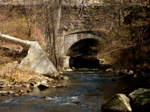 Mill River Culvert, Old Croton Aqueduct, Tarrytown, New York