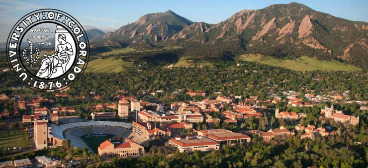 The campus of the University of Colorado at Boulder