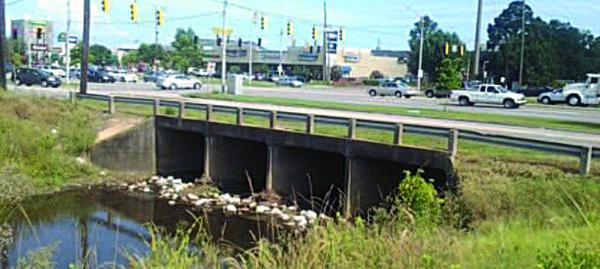Photo of Airport Boulevard culvert