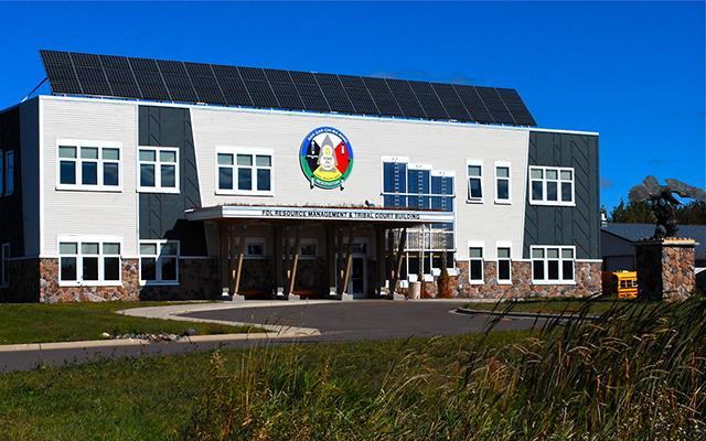 Fond du Lac Resource Management and Tribal Court Building