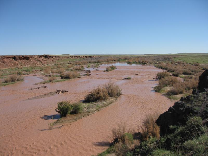 The Little Colorado River on the Navajo Nation