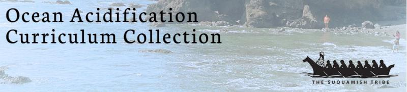 Screen capture from the Ocean Acidification Curriculum Connection website