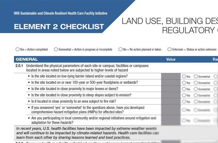 Element 2 Checklist