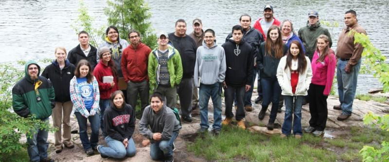 Forest Ecology Summer Institute visits Wolf River