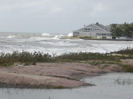 Hurricane Sandy Hits Connecticut's Coast