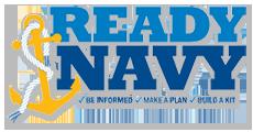 Ready Navy logo
