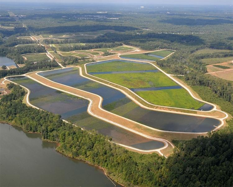 E.L. Huie Jr. Constructed Treatment Wetland