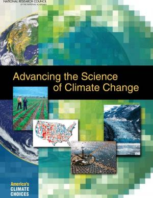 Cover of the Advancing the Science of Climate Change report