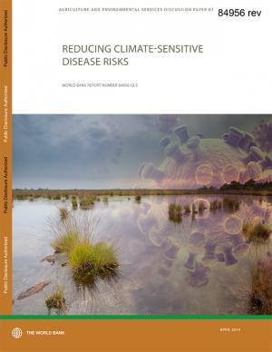 Cover of the Reducing Climate-Sensitive Disease Risks report