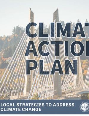 Cover of the 2015 Climate Action Plan for Portland and Multnomah County, Oregon
