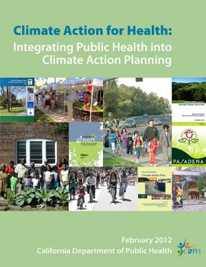 Cover of the Climate Action for Health report