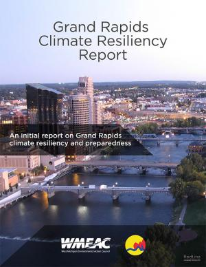 Report cover, depicting a skyline of the City of Grand Rapids
