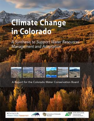 Cover of the Climate Change in Colorado report