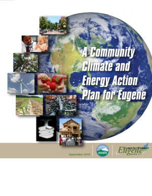 Cover of the Community Climate and Energy Action Plan