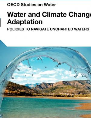 Cover of the Water and Climate Change Adaptation report