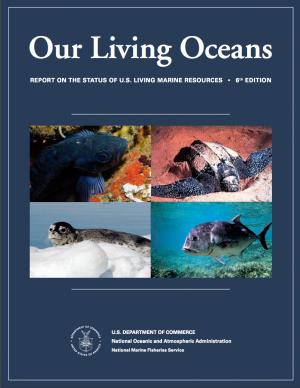 Cover of the Our Living Oceans report