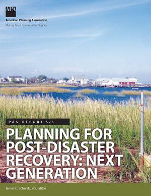 Cover of the Planning for Post-Disaster Recovery: Next Generation report