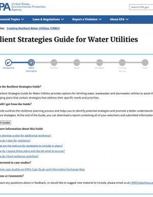 Screenshot of Guide Site