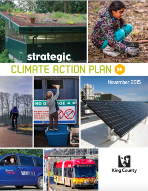 Coer of the King County Strategic Climate Action Planåç 2015 Update