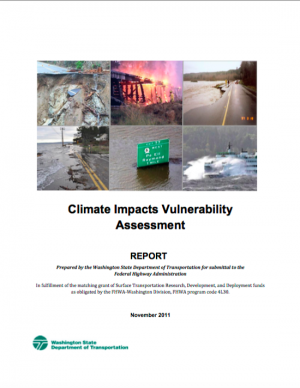 Washington State DOT Climate Impacts Vulnerability Assessment