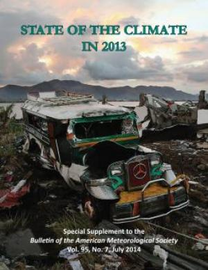 Cover of the State of the Climate in 2013 report