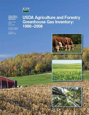 Cover of the USDA GHG Inventory