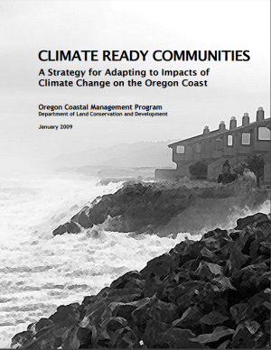 Cover of the Climate Ready Communities report